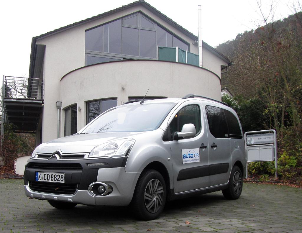 Citroën Berlingo, hier als Kombi-Spitzendiesel mit 84/114 kW/PS.