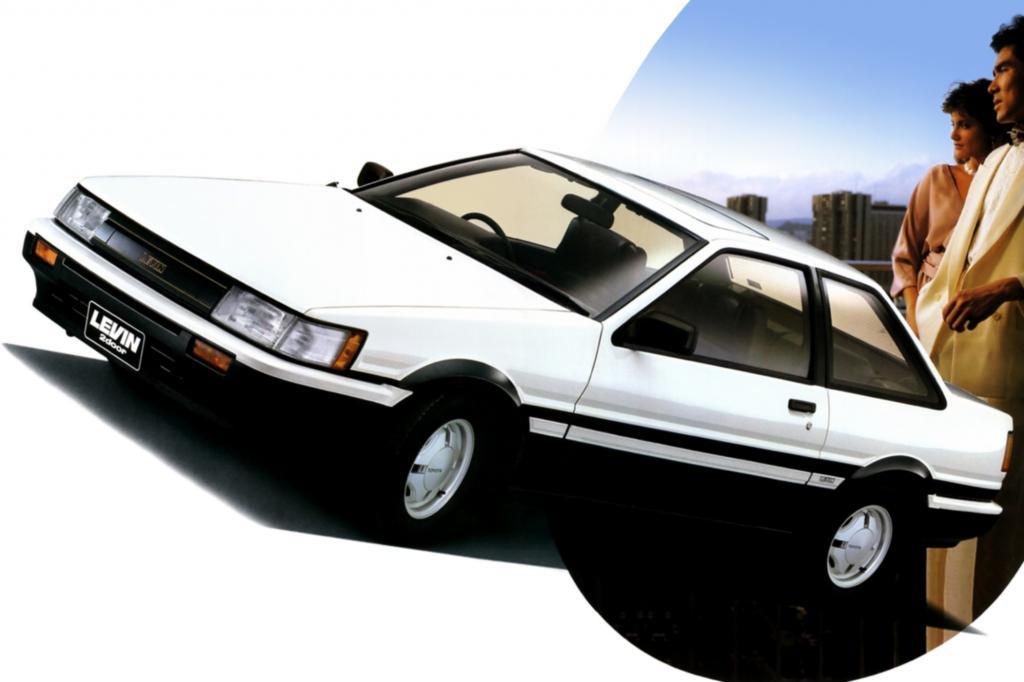 Corolla Levin Serie E86 ab 1983
