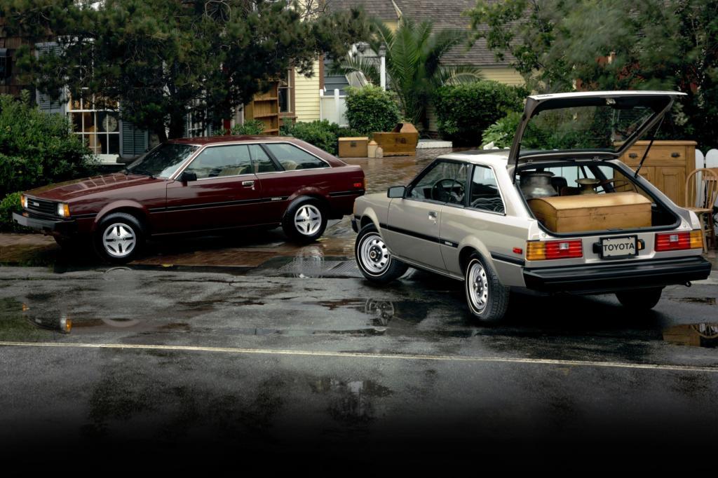 Corolla Liftback Serie E72 ab 1980