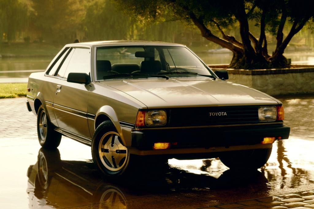 Corolla SR5 Hardtop Coupe E71 ab 1980