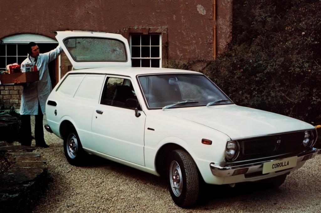 Corolla Van Serie E36 ab 1974