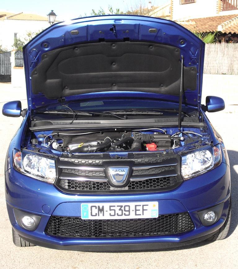 Dacia Sandero: Blick unter die Haube. Hier stehen vier Motorisierungen zur Wahl.