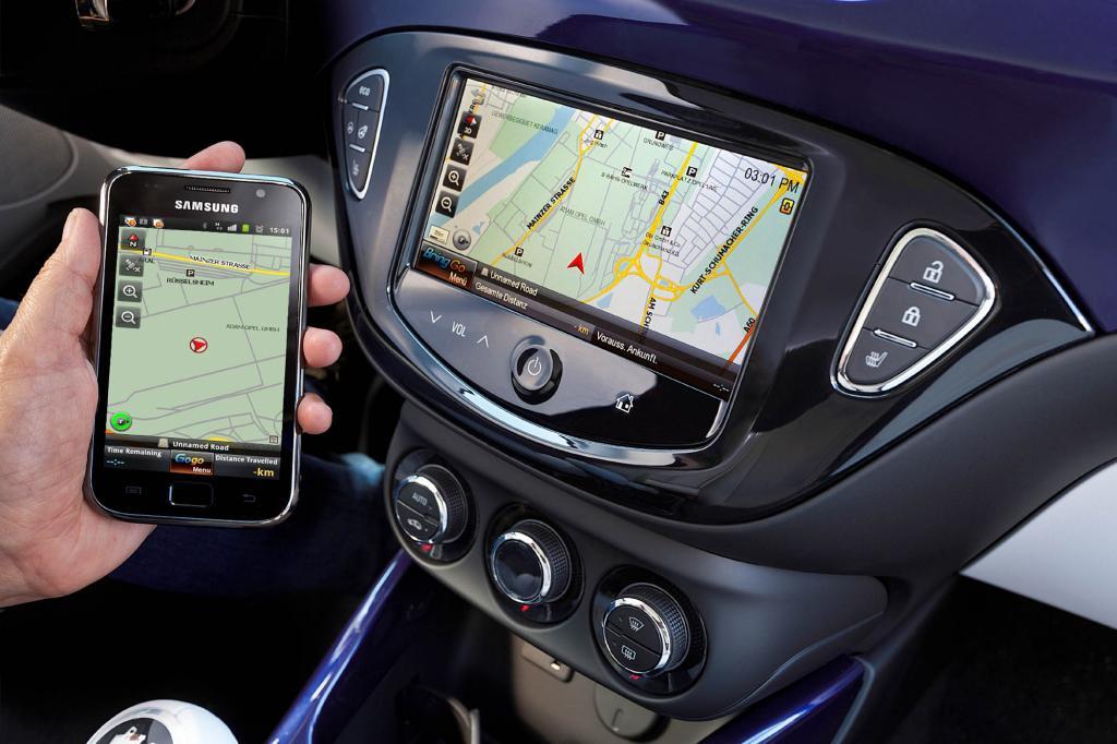 Das Infotainmentsystemverfügt über einen 7,0-Zoll-Farb-Touchscreen