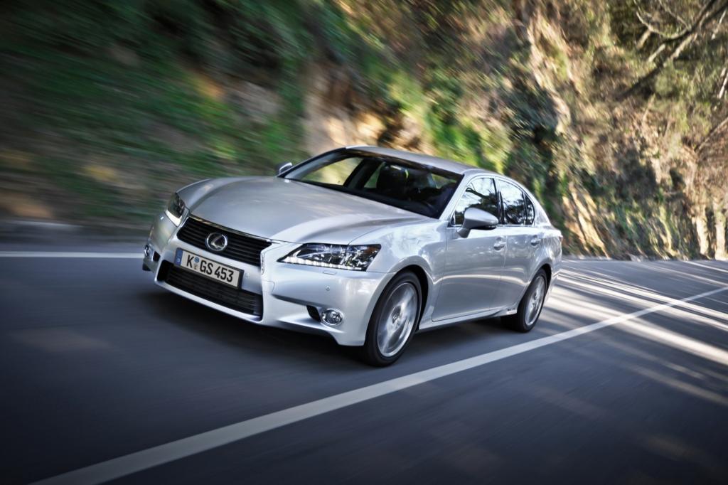 Der Lexus GS tritt seit dem Sommer gegen Konkurrenten wie Audi A6, BMW 5er und Mercedes E-Klasse an