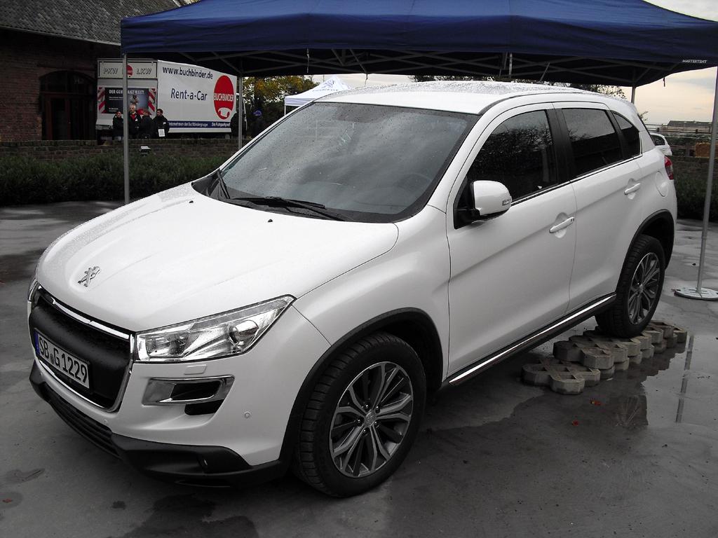 Der neue Peugeot-Softroader ...