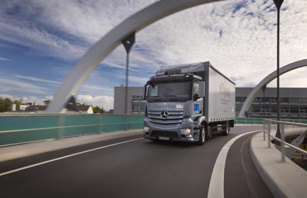 Deutscher Markt für Nutzfahrzeuge schrumpft nur leicht