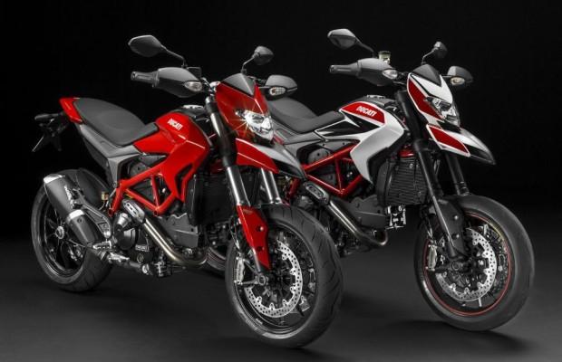 EICMA 2012: Ducati Hypermotard 2013 - Wasserkühlung für das Funbike