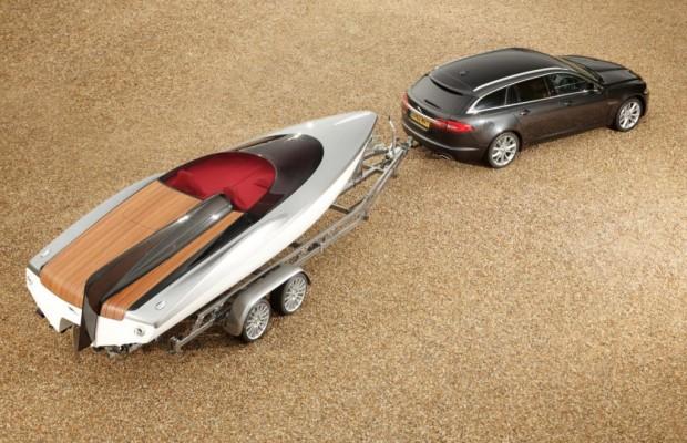 Edles für den Showanhänger - Jaguar enthüllt Speedboot-Studie