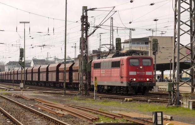 Eisenbahntransporte gingen zurück