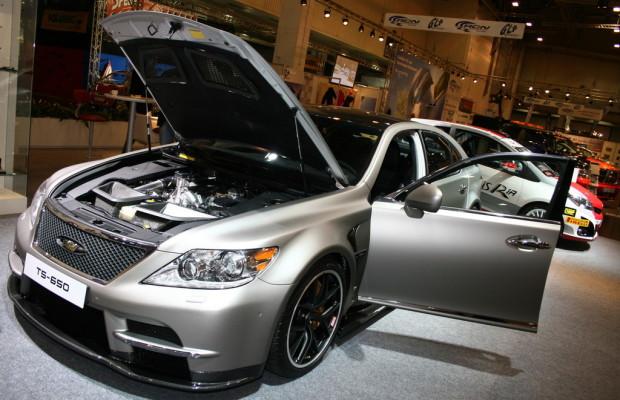 Essen 2012: Lexus zeigt 650 PS starken LS