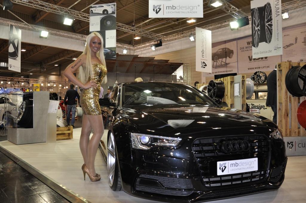 Essen Motor Show 2012: Die Messe Girls der Tuning-Messe