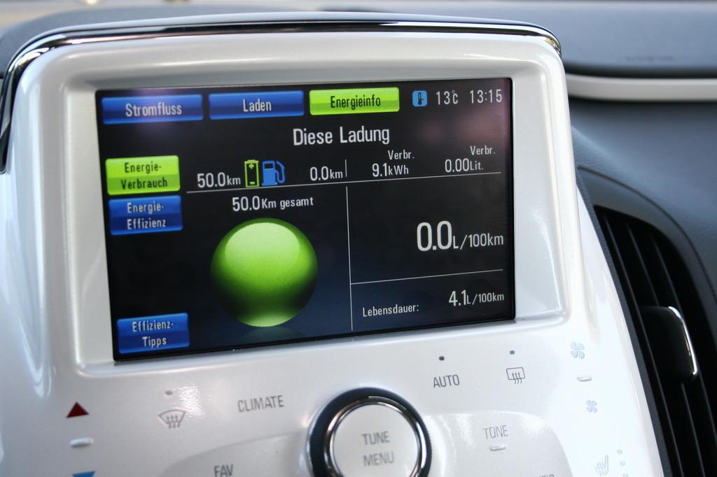 Fahrbericht Chevrolet Volt: Der kleine Unterschied