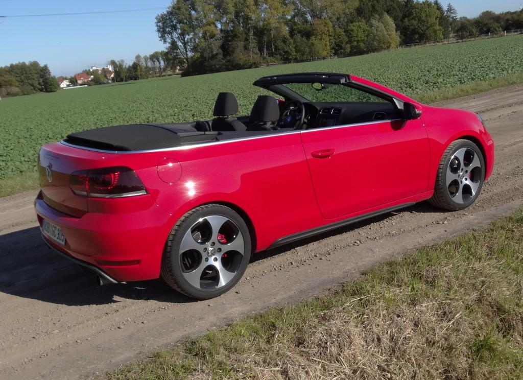 Fahrbericht Volkswagen Golf GTI Cabrio: Doppeltes Vergnügen