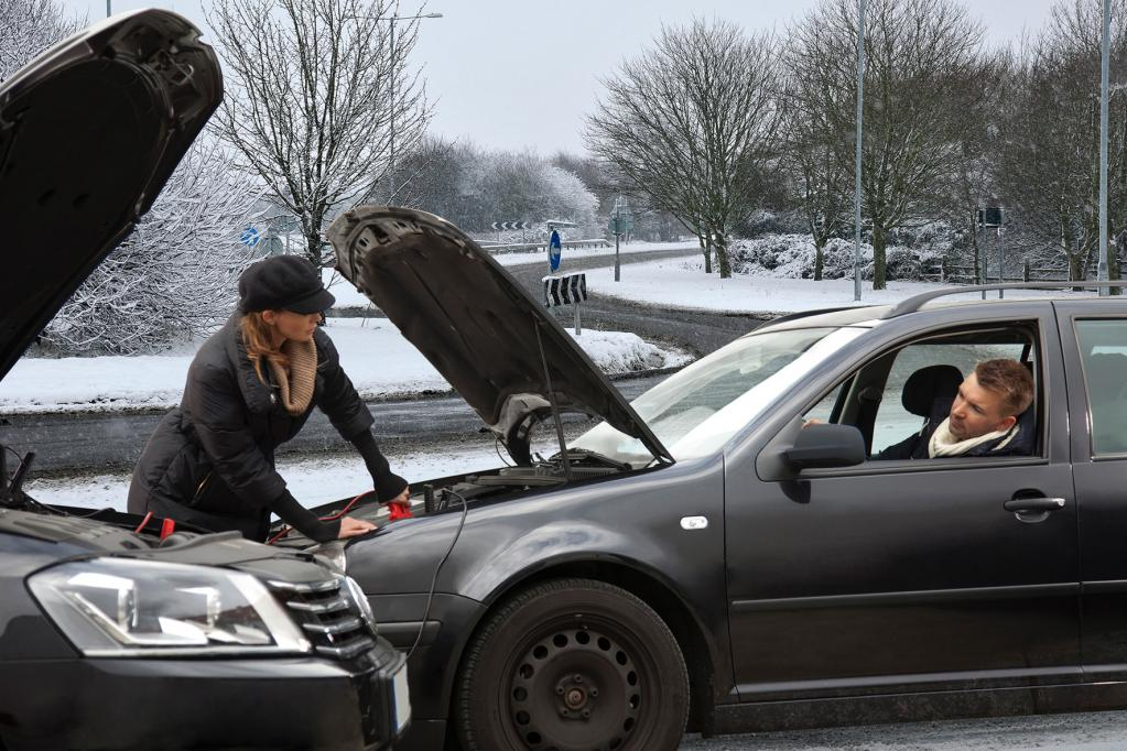Fahren im Winter: Nicht ohne eine Decke
