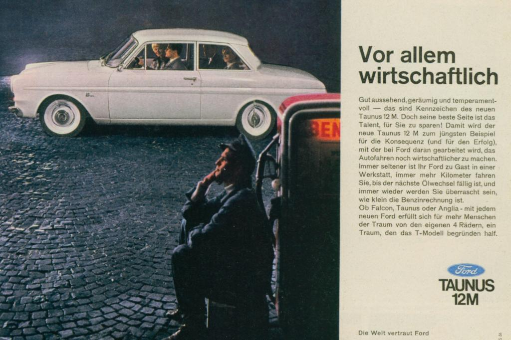 Ford Taunus Werbung