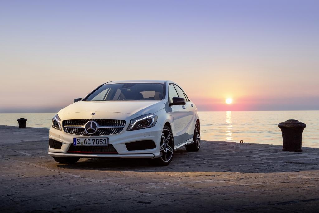 Imagewandel der Mercedes A-Klasse