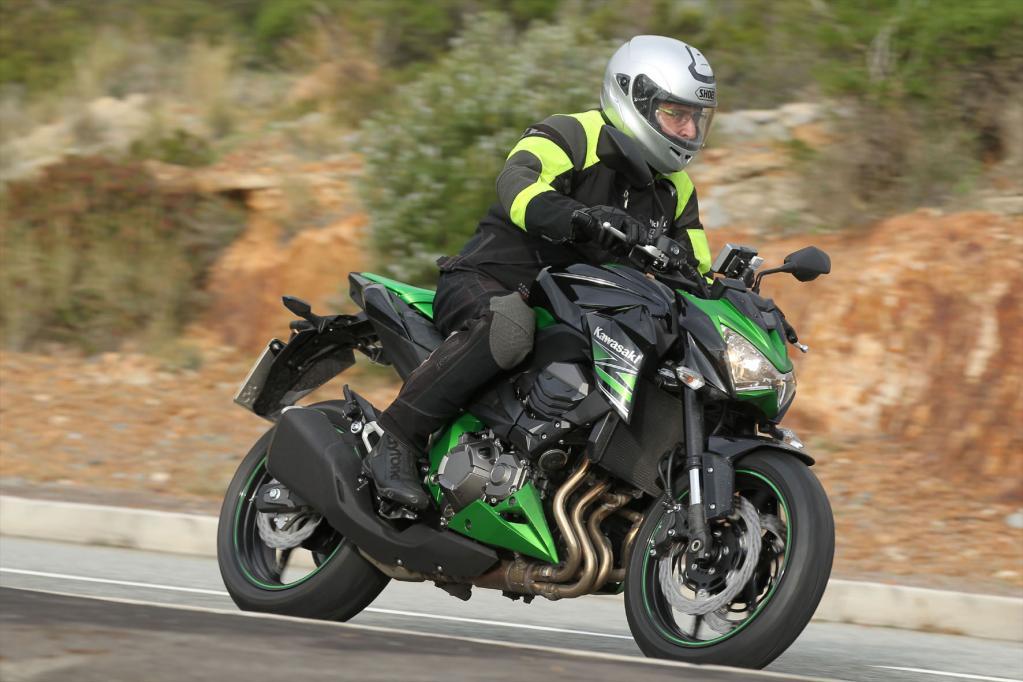 Kawasaki Z 800: Der Hubraum machts