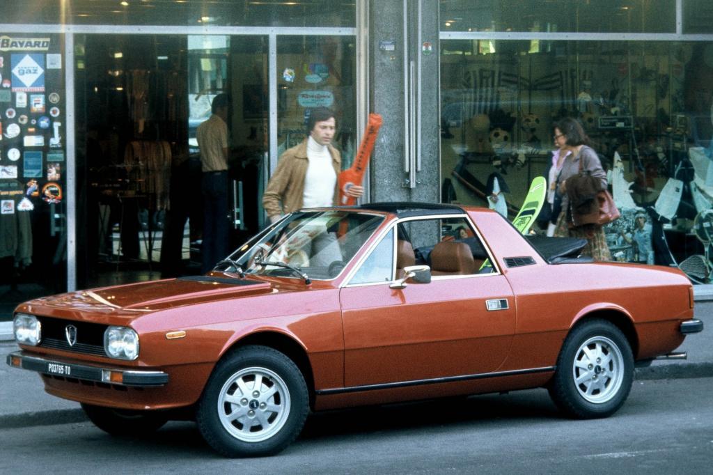 Lancia Beta Spider ab 1975