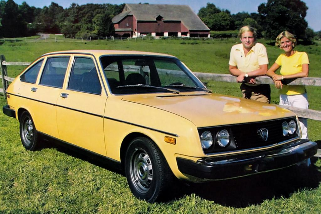 Lancia Beta US Version ab 1976