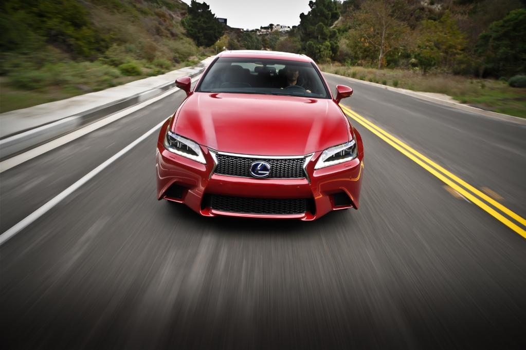 Lexus GS 250 F Sport: Es muss nicht immer Hybrid sein