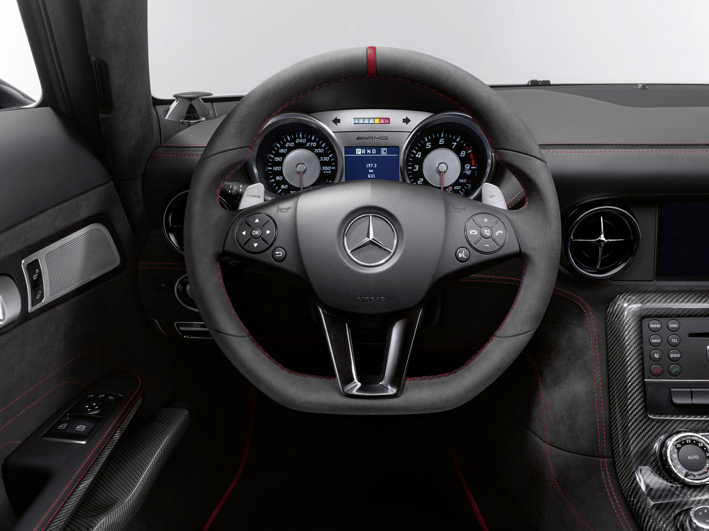 Los Angeles 2012: AMG mit knallgelbem Black Series-SLS