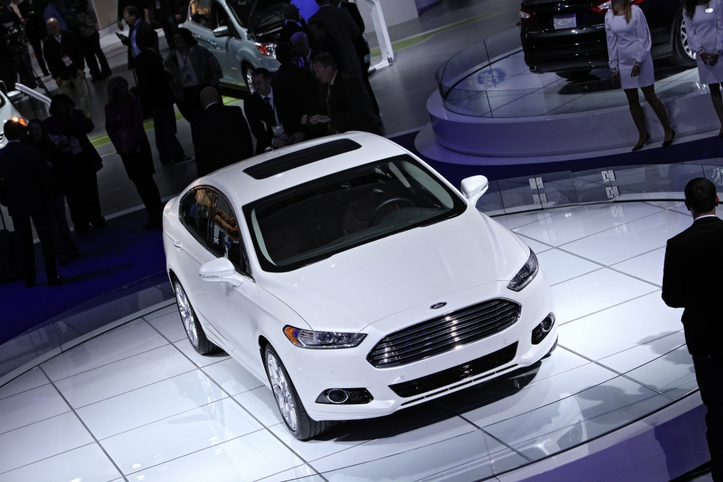 Los Angeles 2012: Ford Fusion ist