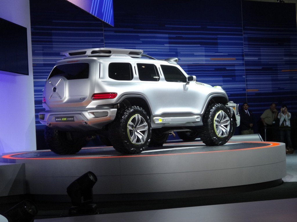 Los Angeles 2012: Mercedes Ener-G-Force