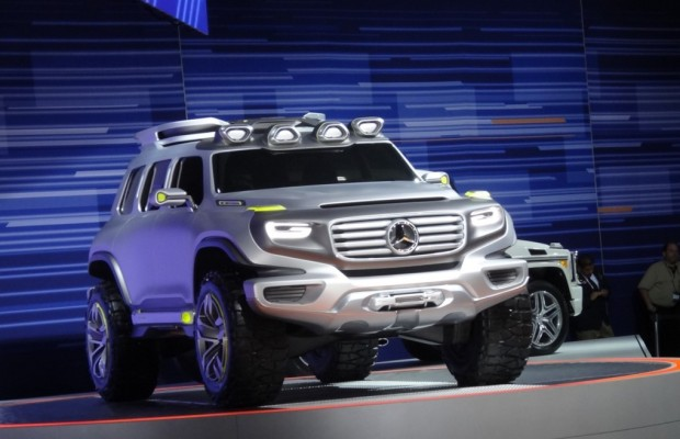 Los Angeles 2012: Mercedes Ener-G-Force