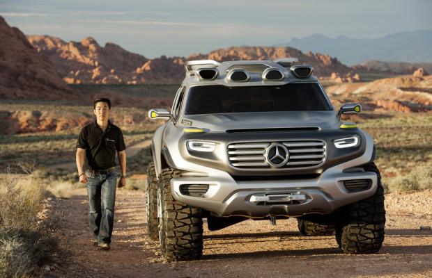 Los Angeles 2012: Mit G-Klasse-Genen zum Polizeiauto der Zukunft