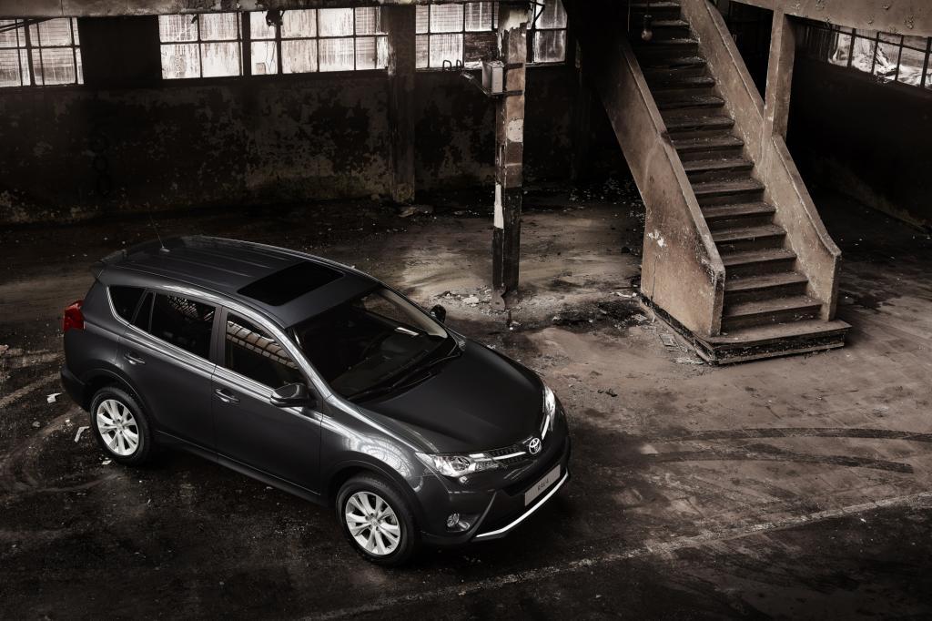 Los Angeles 2012: Toyota RAV4 - Generation vier klappt besser