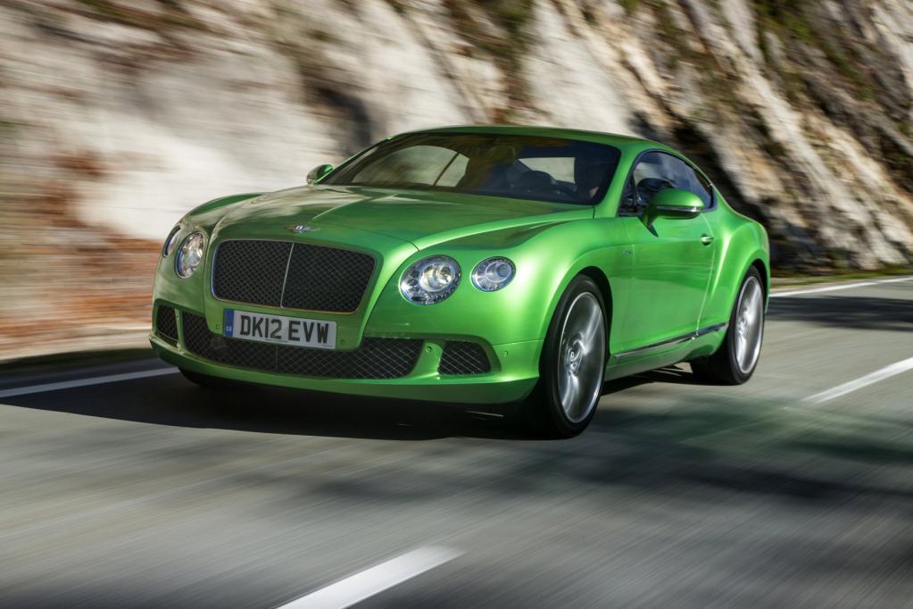 Los Angeles 2012: Zehn Jahre Bentley GT: Der Zwölfzylinder-Bestseller