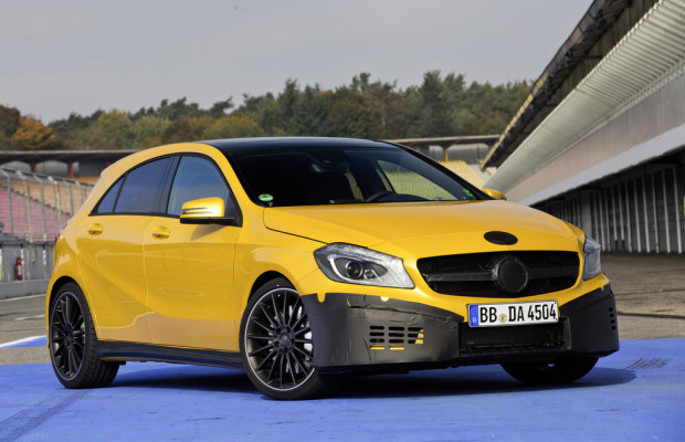 Mercedes-Benz A45 AMG: Der lässt's krachen