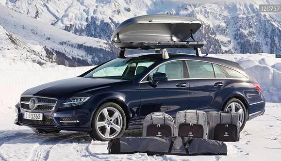 Mercedes-Benz Accessoires bietet Winterzubehör
