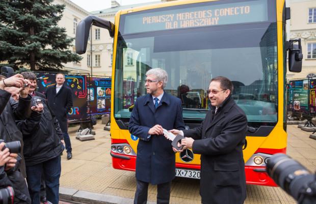 Mercedes-Benz liefert 60 Conecto nach Warschau