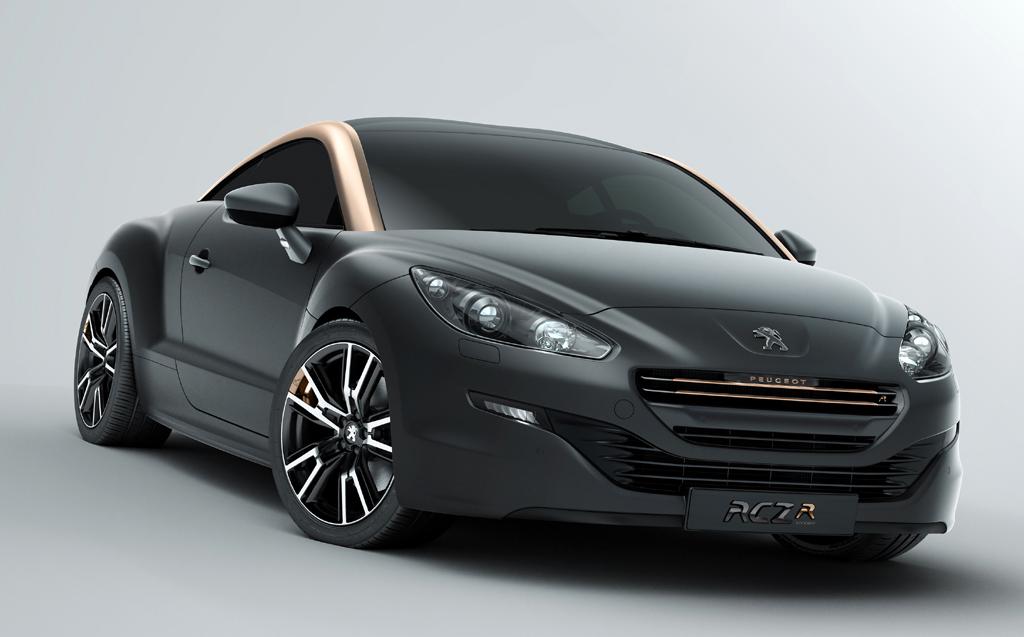 Mit Renntrimm: Peugeot-Flitzer RCZ-R.