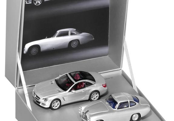 Modellauto-Doppelset zum 60. Geburtstag des Mercedes-Benz SL