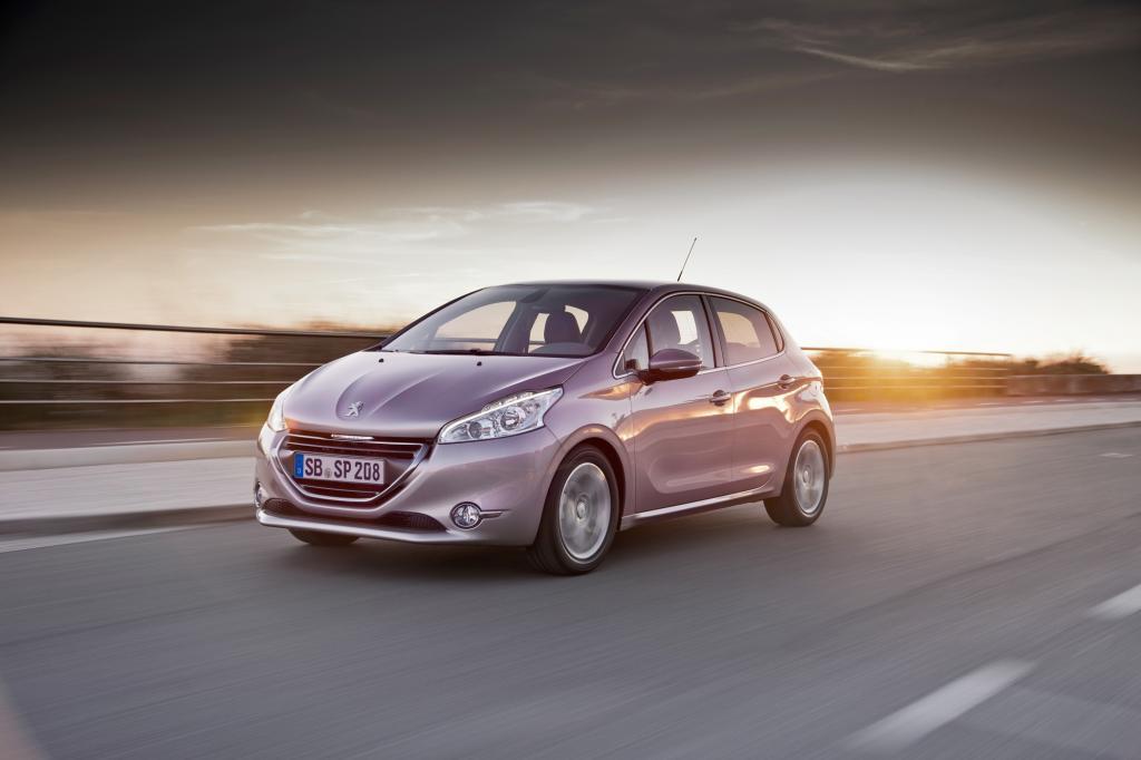 Obwohl kleiner als sein Vorgänger, bietet der Peugeot 208 viel Platz