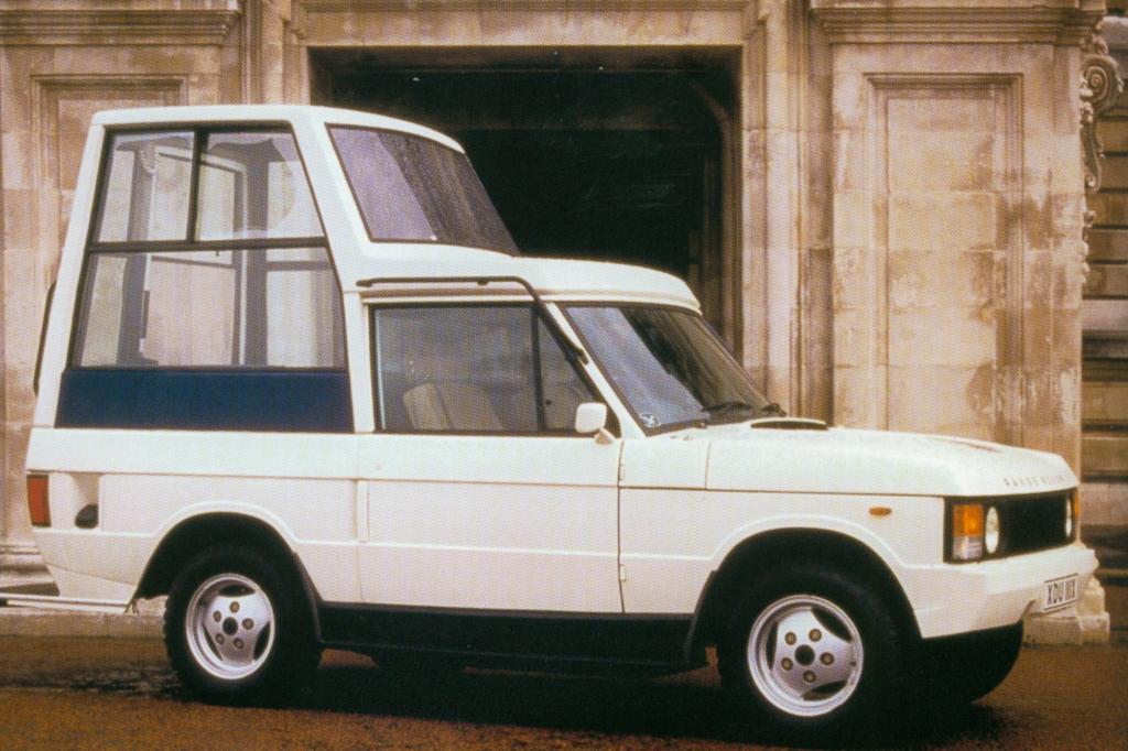 Range Rover Papamobil 1982
