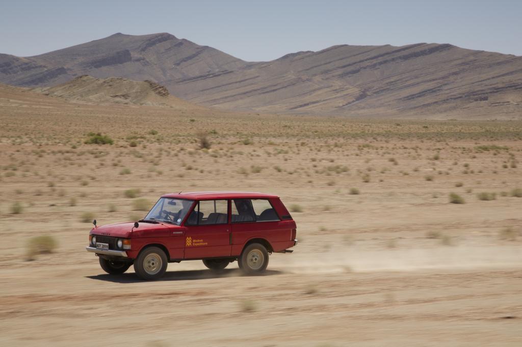 Range Rover Prototyp 1969
