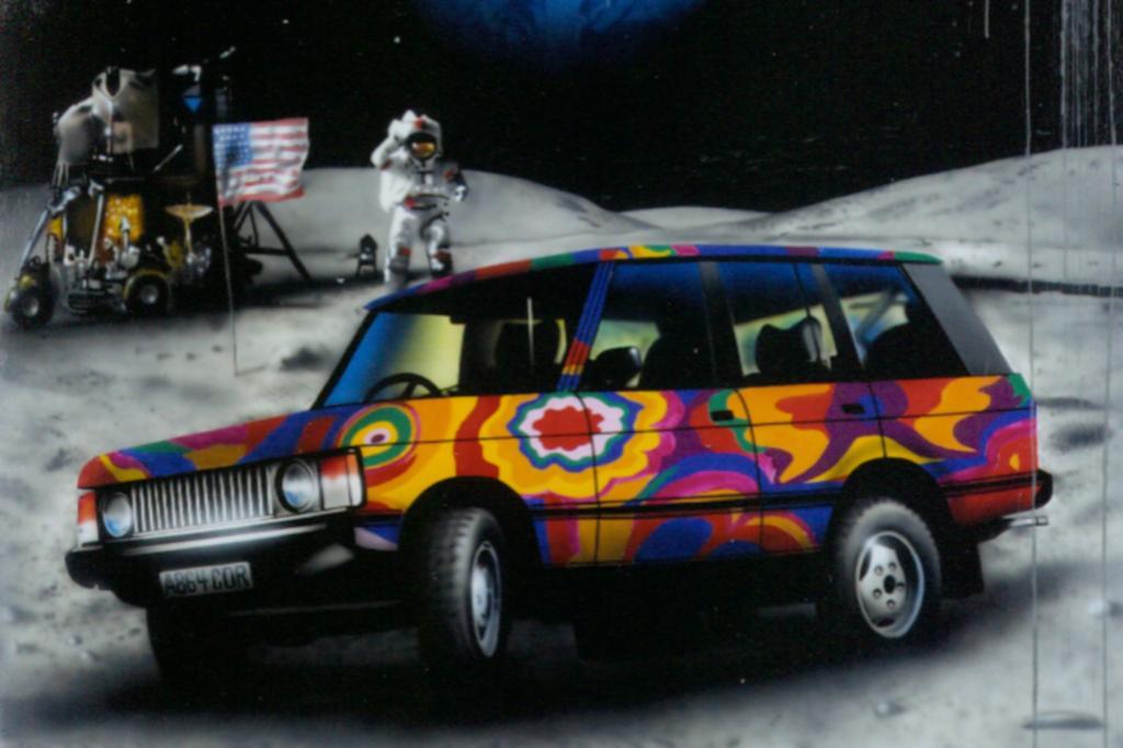 Range Rover ab 1970 Kunstedition