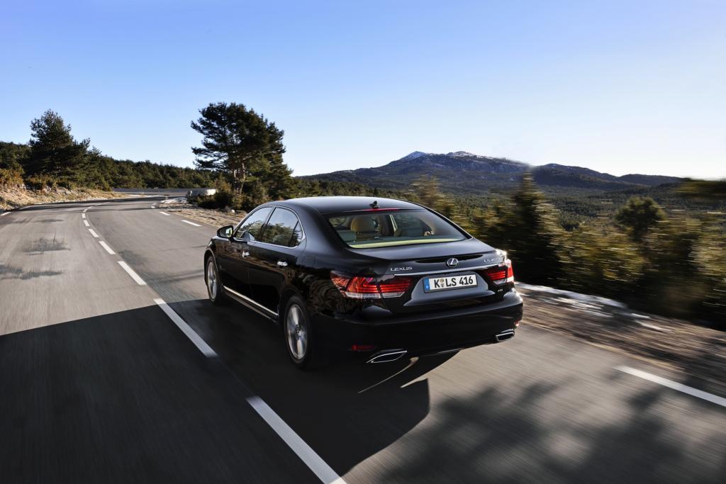 Rund 1.300 Einheiten des renovierten LS möchte Lexus jährlich europaweit absetzen