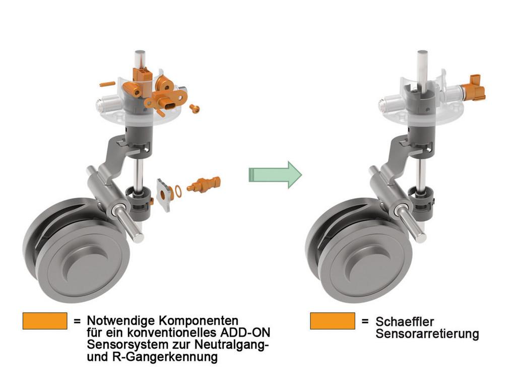 Schaeffler bringt Sensorarretierung als Element für moderne Antriebskonzepte