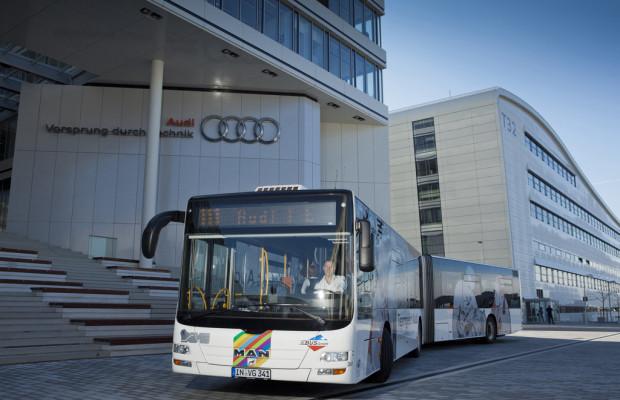 Schnellbus verbindet Ingolstädter Nordbahnhof mit Audi