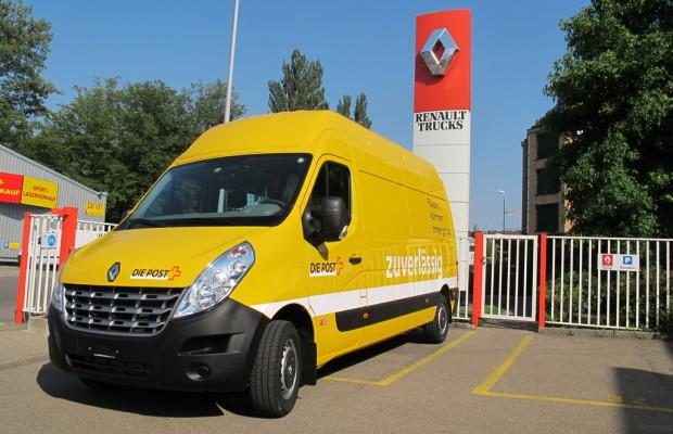 Schweizer Post erhält bis 2014 rund 1000 Renault Master
