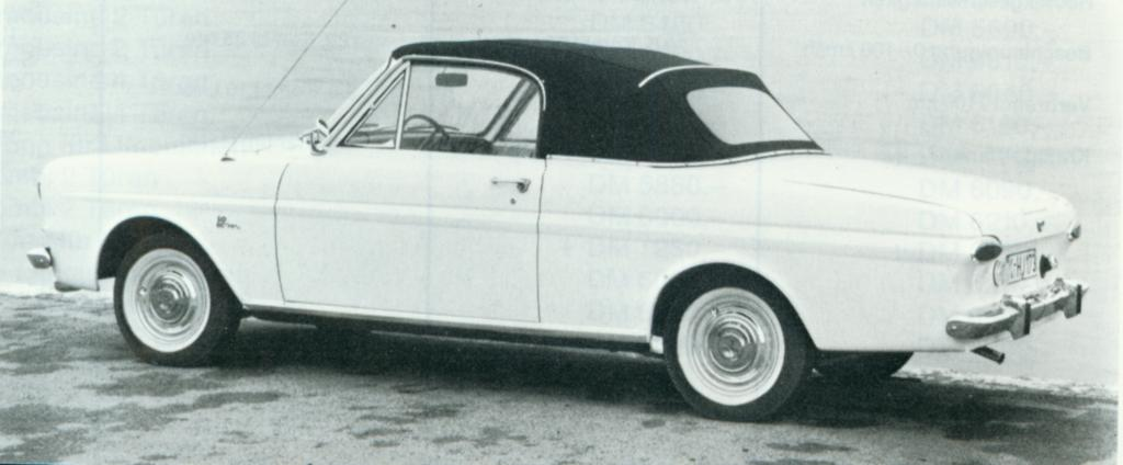 Sport Cabriolet ab 1964