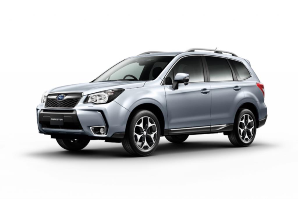 Subaru legt den Forester neu auf
