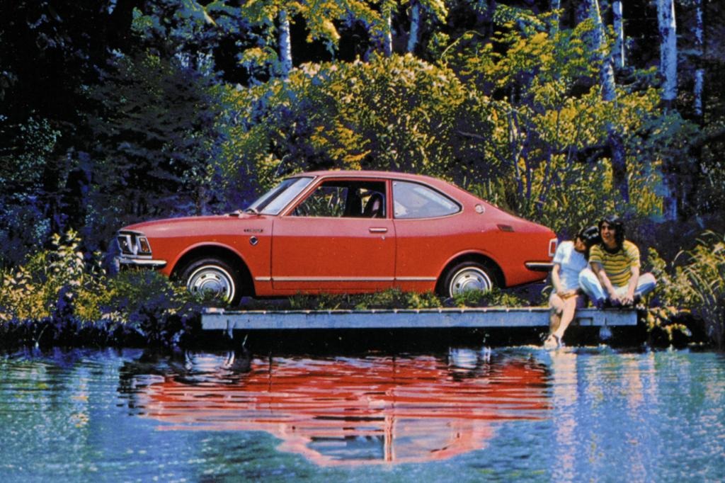 Toyota Corolla Coupe Serie E20 ab 1971