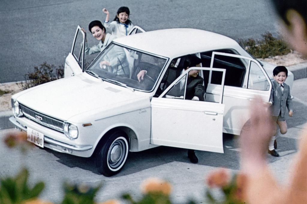 Toyota Corolla E10 ab 1967