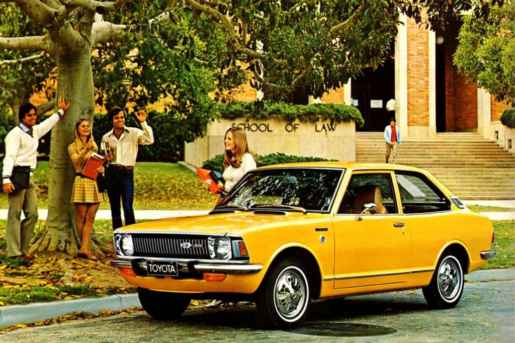 Toyota Corolla Serie E20 ab 1970