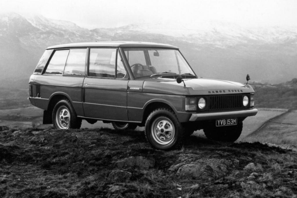 Vier Generationen Range Rover